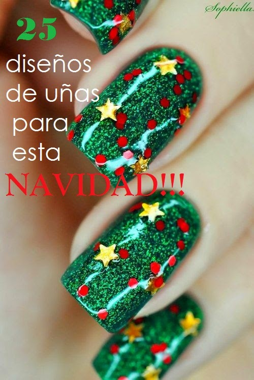 Pabla en casa: Prepara tus uñas para esta navidad!!!