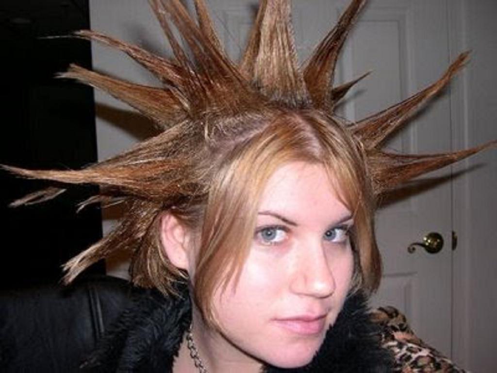 20 de los mejores peinados del Día del cabello loco OkChicas - Peinados Locos Para Hombres