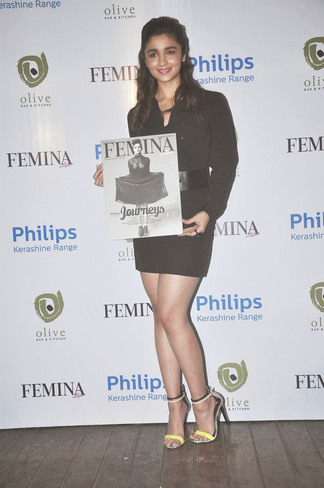 Alia Bhatt Launch Femina Magazine's 55th Anniversary Issue Stills