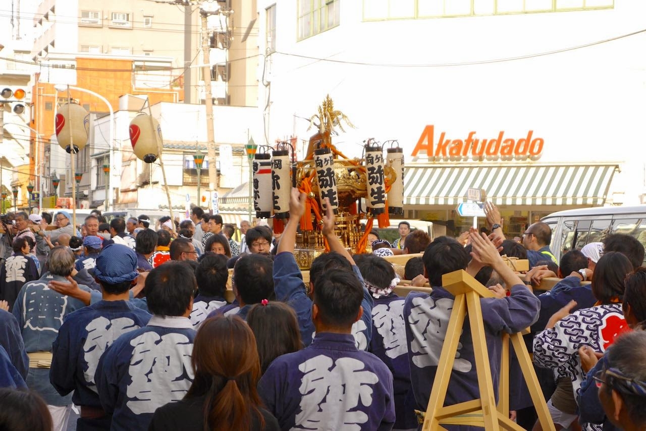 神輿 弥生町内会 Yayoi Neighborhood Association's Mikoshi