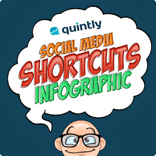 Inforgraphic: Social Media 'keyboard' Shortcuts