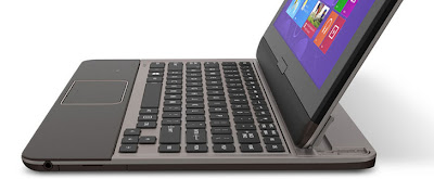 Toshiba Satellite U925t Ultrabook Layar Sentuh Dengan Keyboard Slide-Out