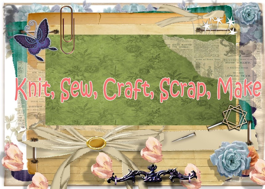 Knit Sew Craft Scrap Make