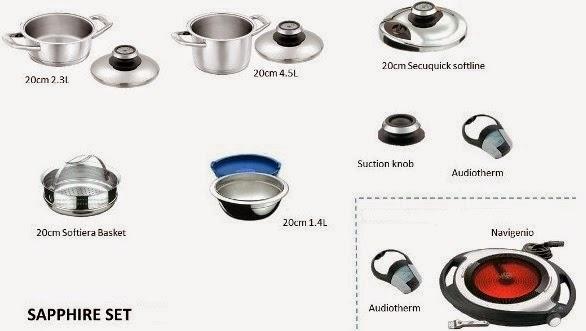 amc premium system sapphire set discount