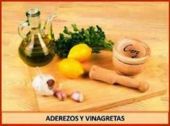 Aderezos y Vinagretas
