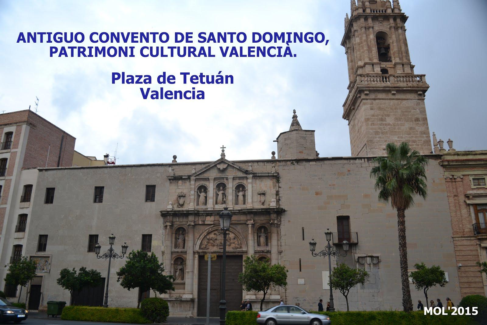 08.10.15 VISITA AL ANTIGUO CONVENTO DE SANTO DOMINGO EN VALENCIA