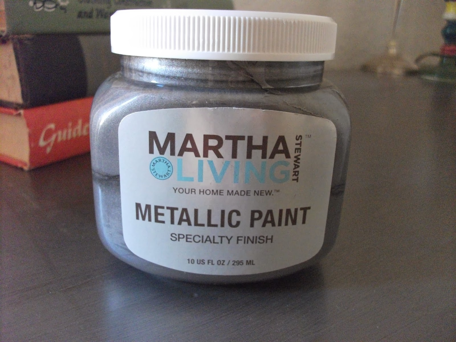 The Paint Color Is Thundercloud. Martha Stewart Living Metallic Paint. Love  It. Not A Paid Post, I Just Love This Paint. I Used The Copper On A  Highboy, ...