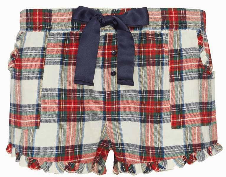 Shorts de pijama a cuadros para mujer de Primark