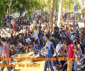 Gezi Parkı Eylemlerine Yazar ve Şairler Ne Dedi?