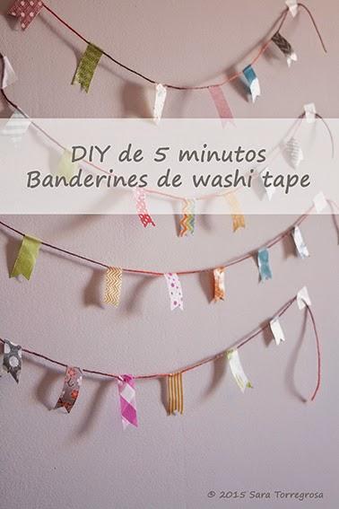 Banderines washitape - El Pegotiblog