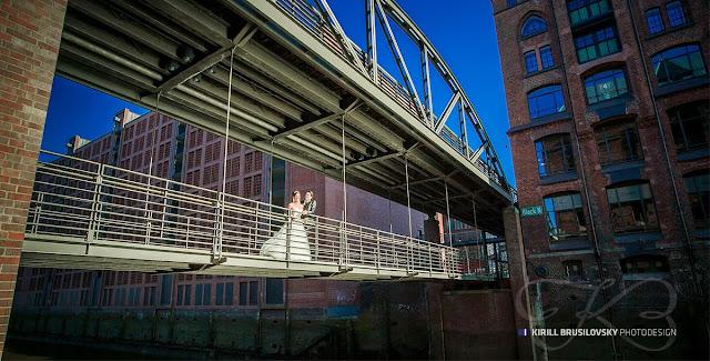 Hochzeitsfotos in Hamburg Speicherstadt