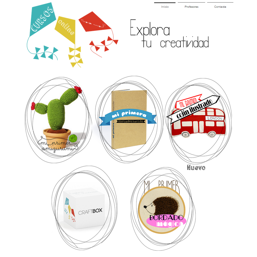 Cursos online craft talleres virtuales taller handmade DIY CraftBOX aprender a crafty