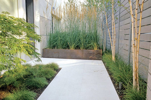 Garden Design Minimalist : minimalist garden with a mixture of minimalist home should give