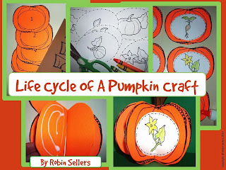 http://www.teacherspayteachers.com/Product/Pumpkin-Craft-Life-Cycle-of-a-Pumpkin-Craftivity-336811
