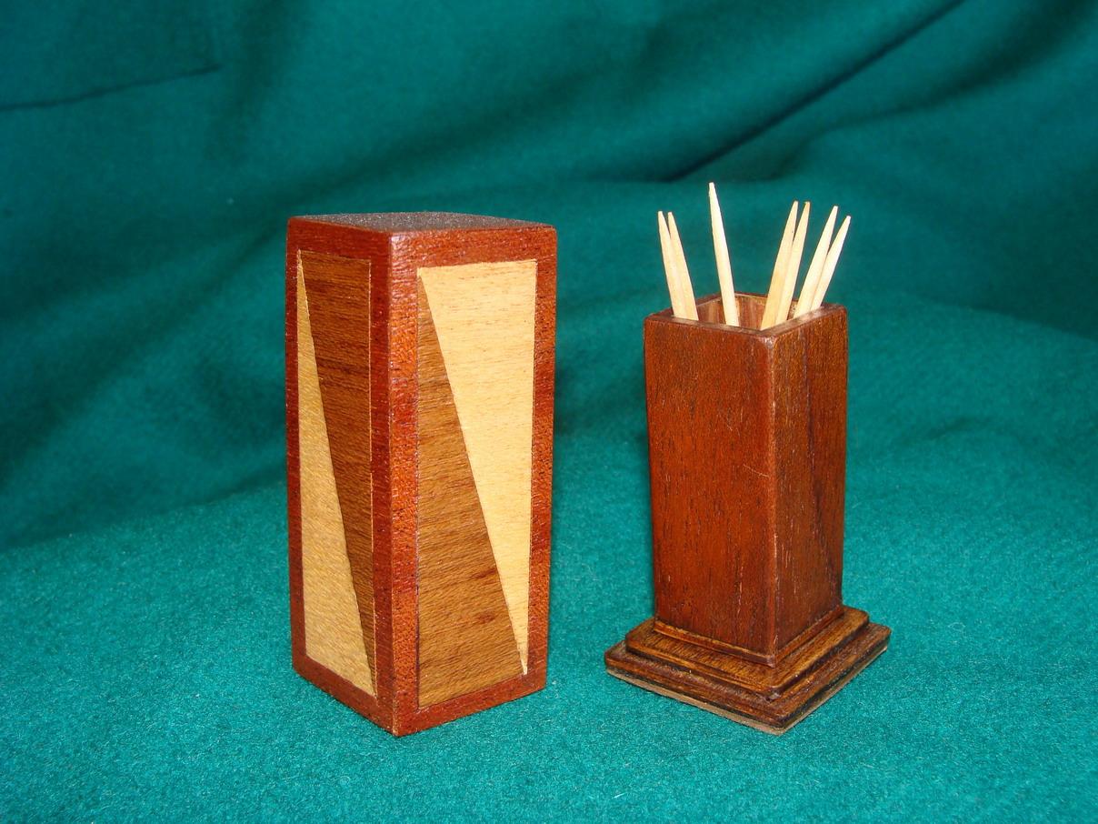 Artesanias miguel artesanias palillero de madera - Madera para marqueteria ...