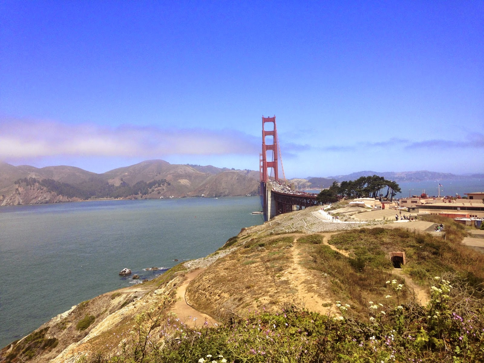 San Francisco golden gate bridge travel blog pacific coast highway cali dream California vaca