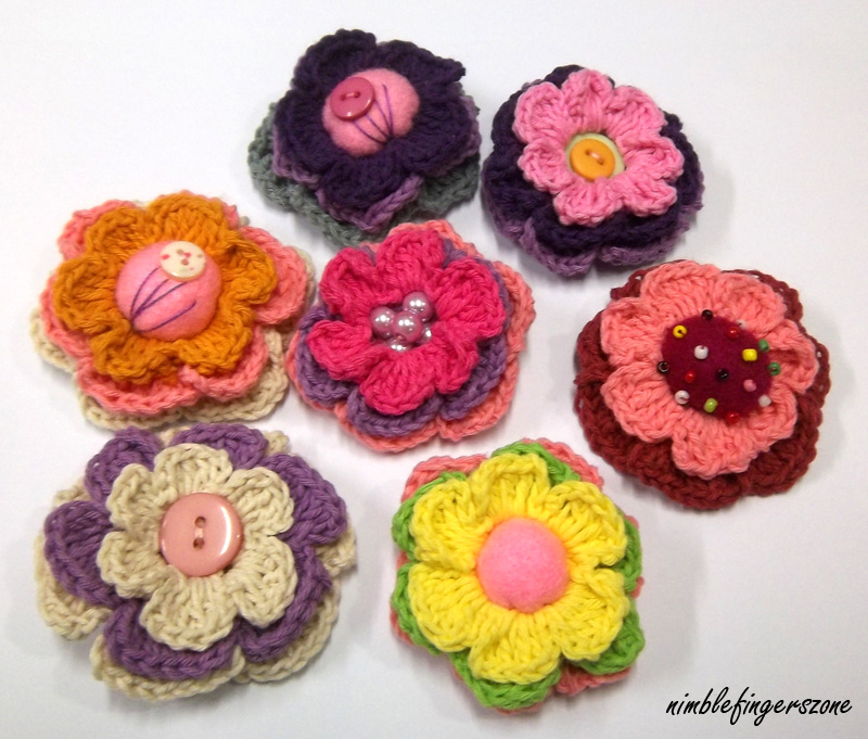 Posted in brooches crochet