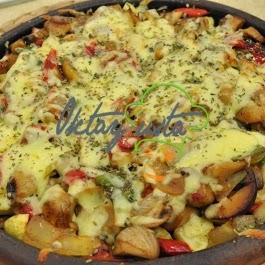 Kiremitte Mantarlı Patates Tarifi
