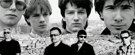 U2 bono edge larry mullen adam clayton boy no line on the horizon