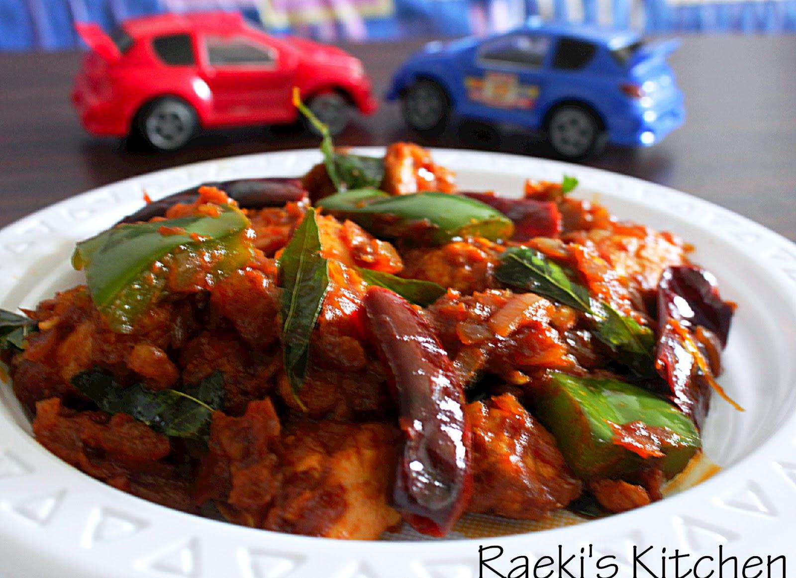 recipe: kadai chicken with capsicum recipe [20]