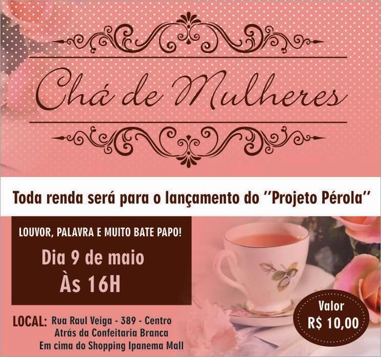 Chá de mulheres   Gracielli Roque 0f87afd04b