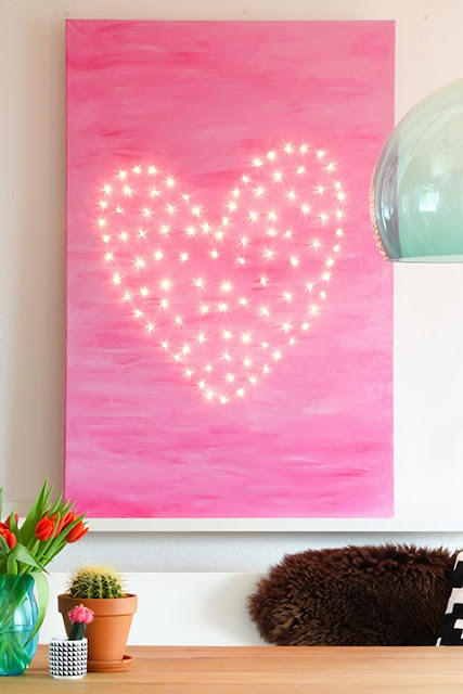 Heart Light art