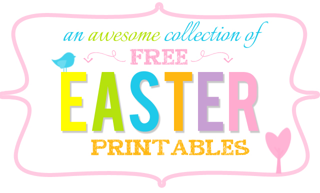 20 amazing free easter printables love and marriage 20 amazing free easter printables negle Image collections