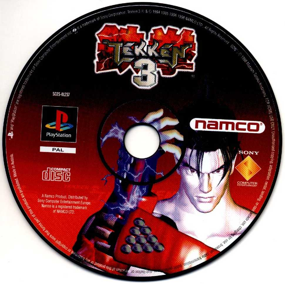 The Famous Game of PlayStation in Disk