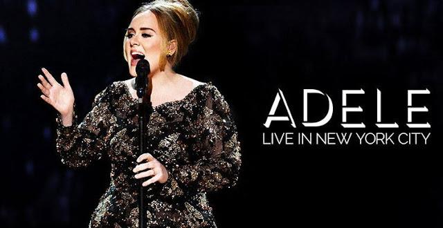 """Adele llora durante su concierto en """"Live In New York""""."""