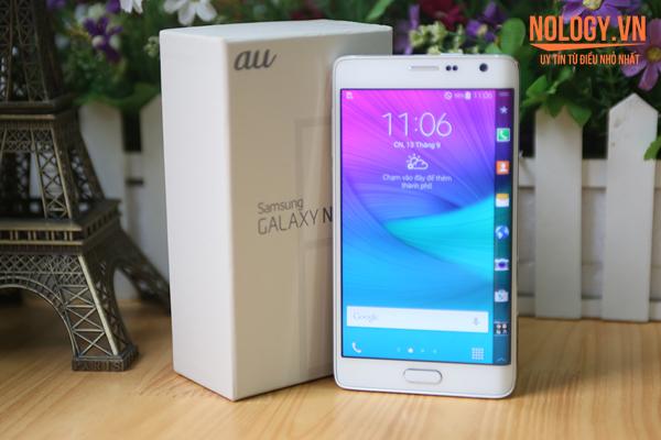Đánh giá Samsung Galaxy Note Edge Docomo