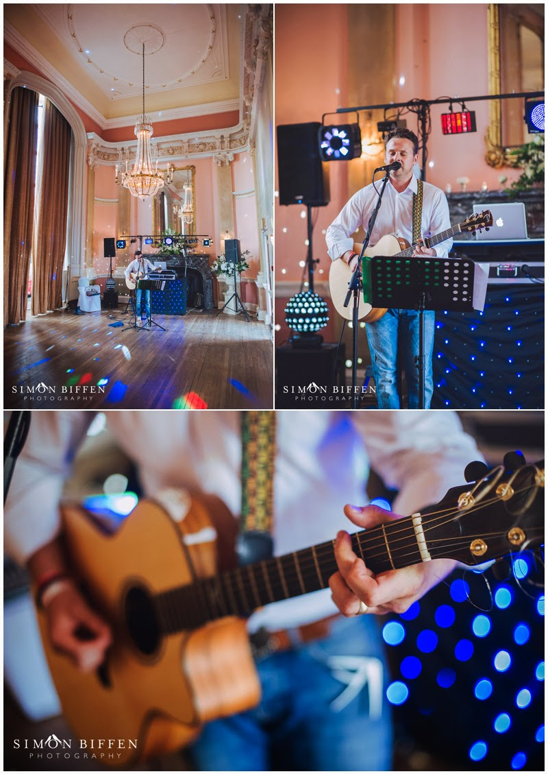 Live music at Danesfield House wedding