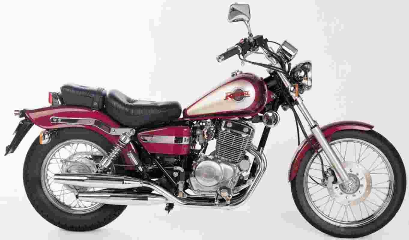 Honda rebel motorcyc