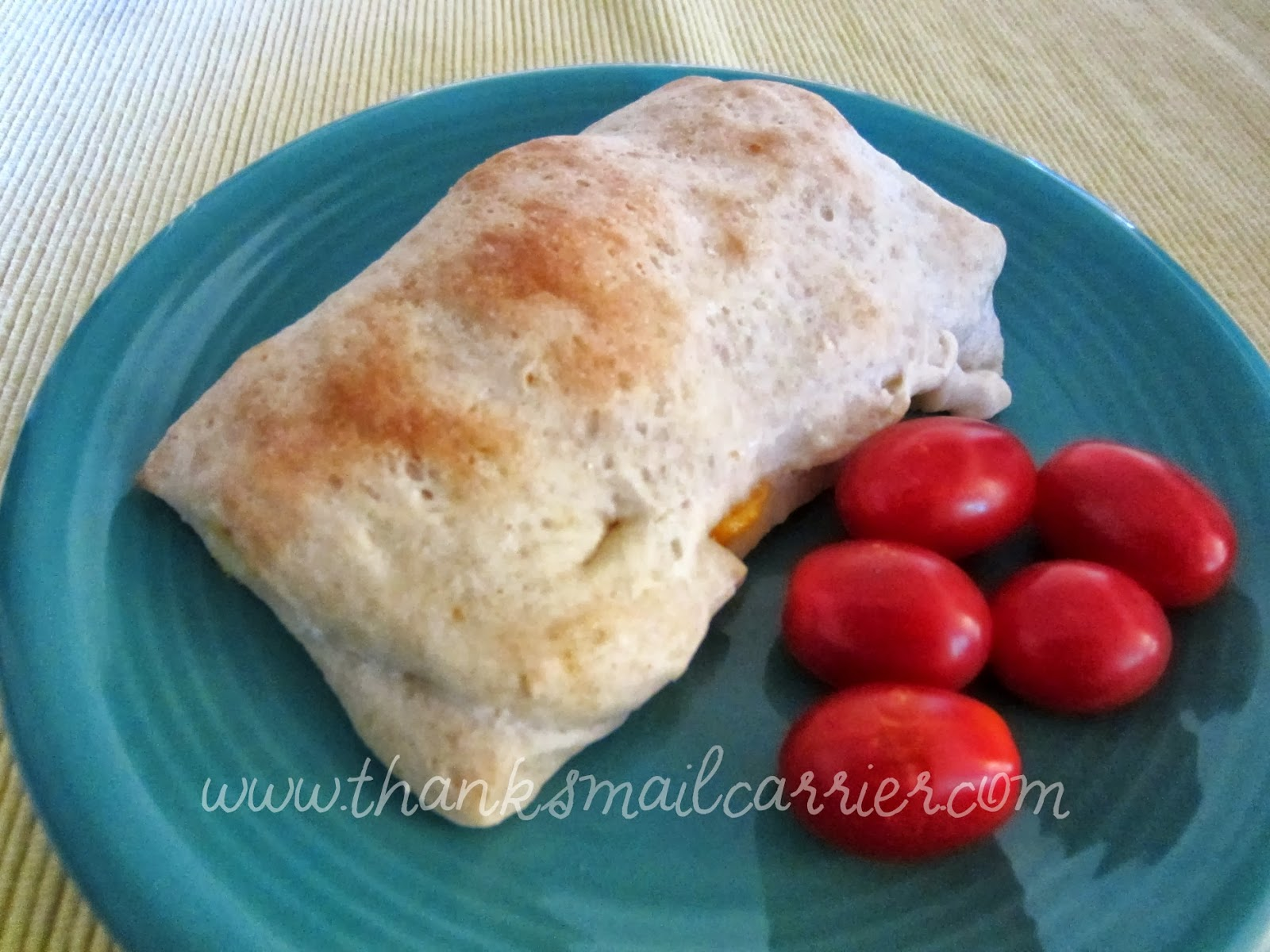homemade hot pocket