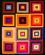 Free pattern ! Kona squares