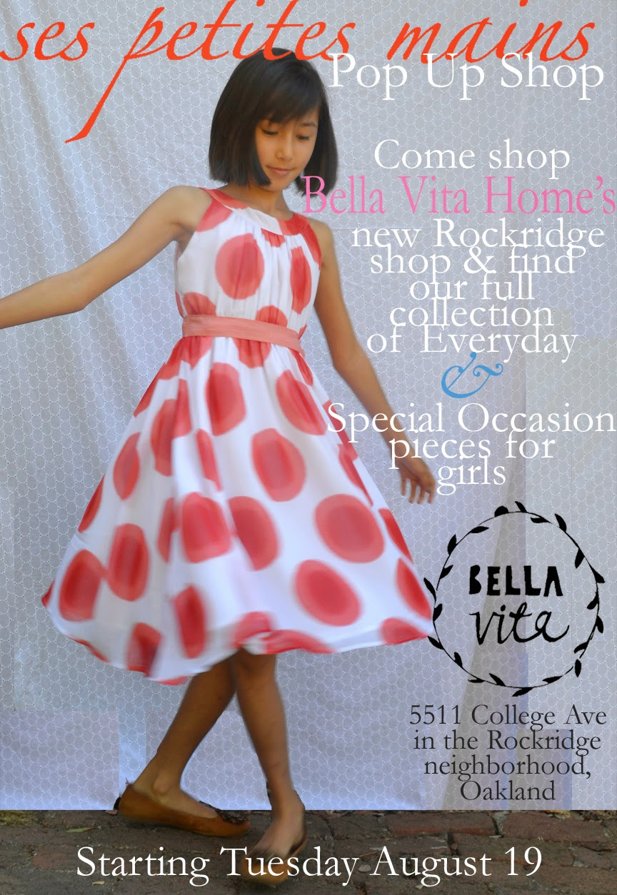 Pop Up Shop, shop Oakland, Shop local, SFMade, girls dresses for special occasion, back to school clothes, tween dresses for special occasion, midweekly dress, girls size 4t-8, girls size 10-14
