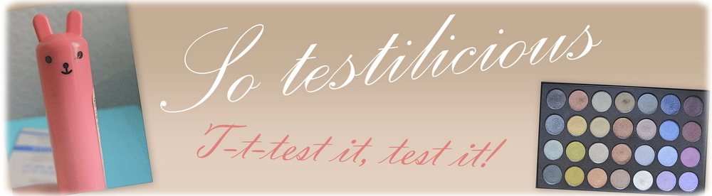 So testilicious! T-t-test it, test it.