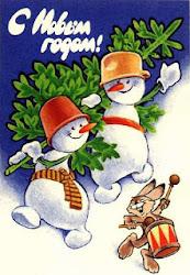 Создаём коллаж из фото снеговичков!!!до 15 января.
