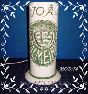 LUMINARIAS EM PVC PALMEIRAS