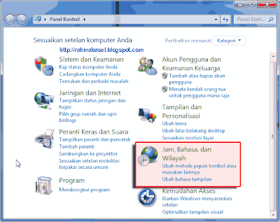 Windows 7 Bhs Indonesia