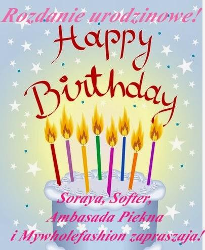 Urodzinowy konkurs z marką Sofret i Soraya i Ambasadą Piękna!