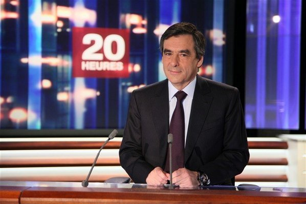 Francois Fillon au 20H de France 2 spécial Japon