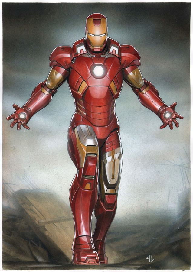 name of iron man