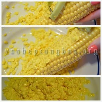 Cách nấu chè ngô khoai lang 2