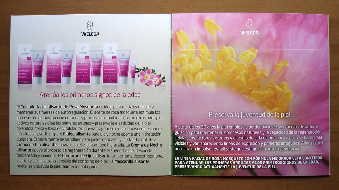 Weleda rosa salvaje aceite facial