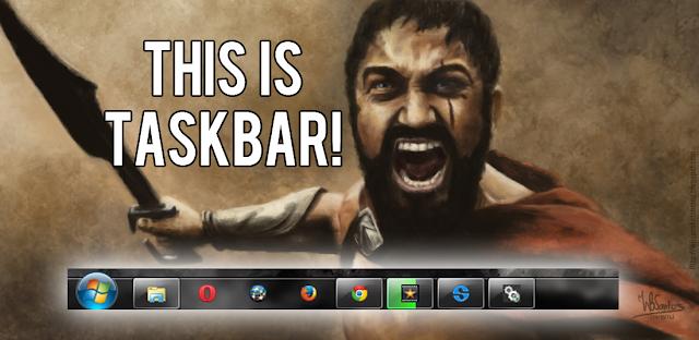 Cara Memindahkan Taskbar Windows 7