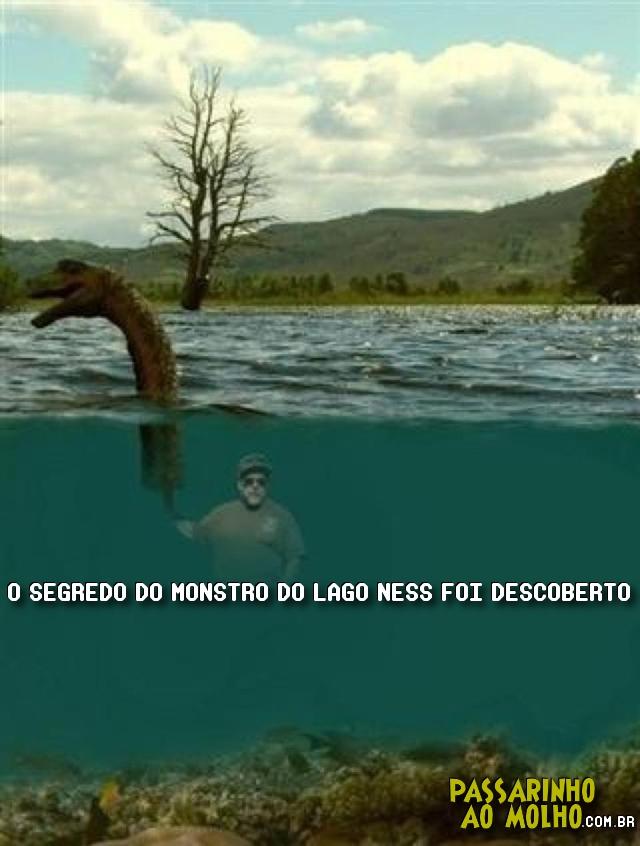monstro do lago ness, chuck testa