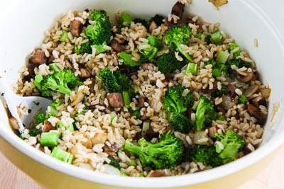 ... Sausage, Broccoli And Parmesan Brown Rice Dinner Recipes — Dishmaps