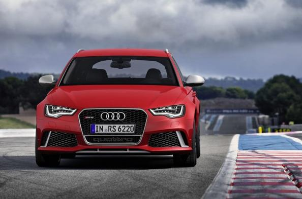 новый Audi A6 RS6 2013