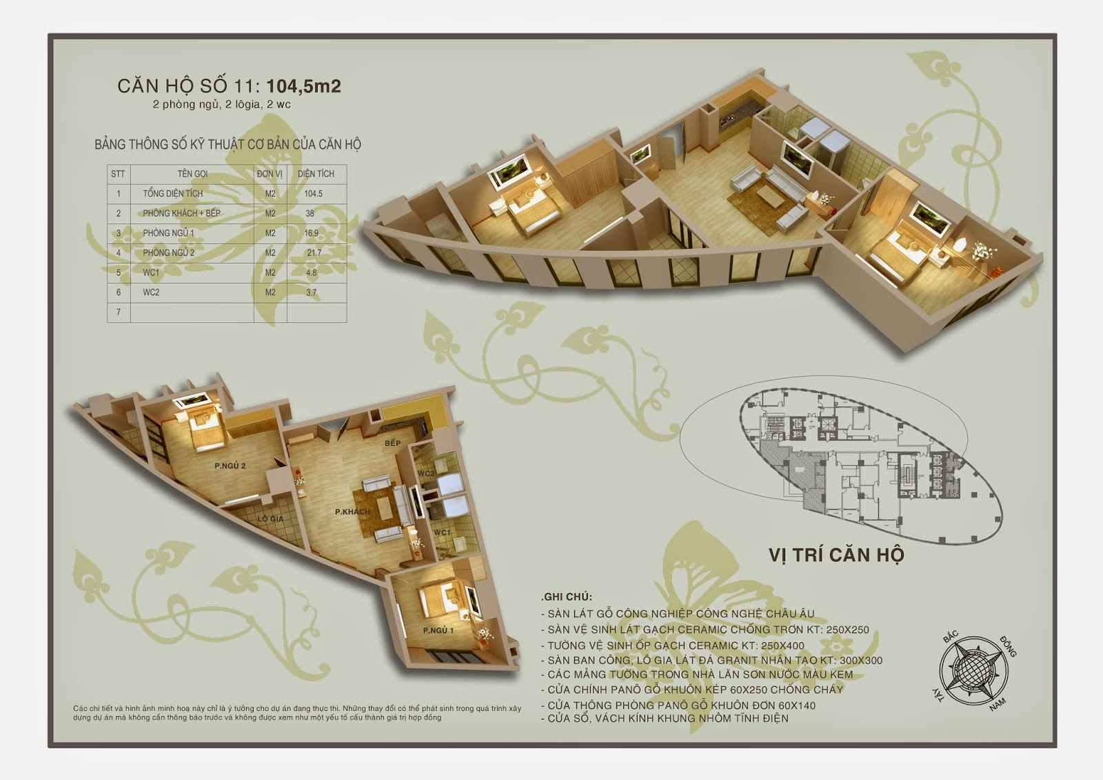 sơ đồ thiết kế mặt bằng chung cư ellipse tower