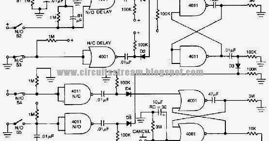 Build A Home Alarm Loop Wiring Diagram Schematic